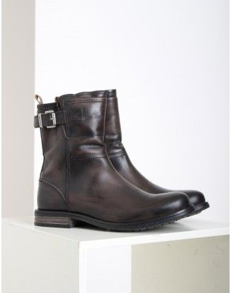 Sneaky Steve Charcoal Crowley Boots