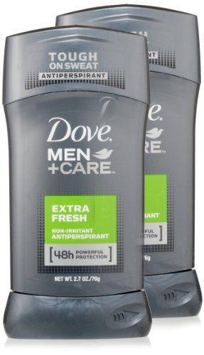 Dove Men + Care Antiperspirant, Twin Pack, 5.4 Ounce by Dove, http://www.amazon.com/dp/B0061JPJ28/ref=cm_sw_r_pi_dp_Q4hPrb1VSD4XG