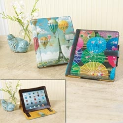 iPad covers.  http://goo.gl/4g3qX