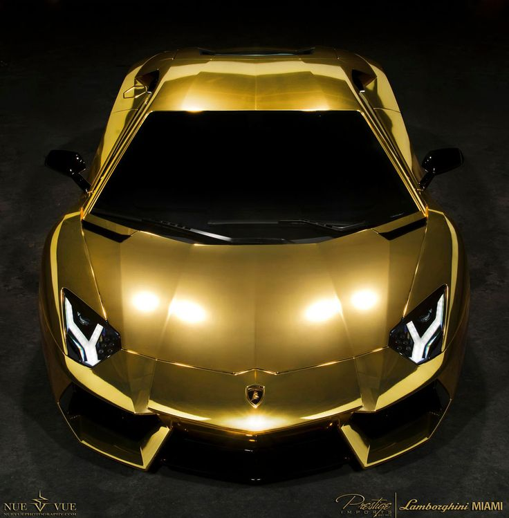 I didn't realize how much I loved #gold until I discovered this beauty!    (Aventador AU79, #Lamborghini V12)