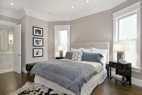 bedroom, house, and room image Taupe walls, Taupe