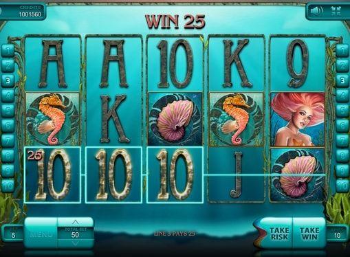 Игровой автомат Undine's Deep — играть на деньги  Если вам нравится играть на деньги в автоматы на морскую тематику, оцените Undine's Deep. В этом игровом аппарате вас ждут щедрые реальные призы, которые будут дарить русалки и другие водные жители.  Что ждёт игроков в это
