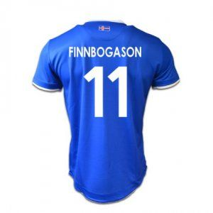 279569e03b4 Iceland National Team Euro Jersey 2016 17 Home Soccer Shirt  11 Finnbogason   E559