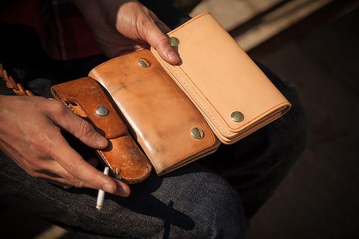 Dinge die immer schöner werden - ONDURA Durable Goods #ONDURA #Leder #leather #Lederware #Geldbörse #Patina #wallet #leatheraccessories