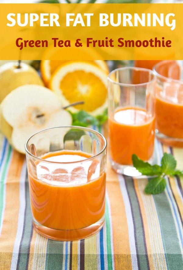 Fat burning nutriblast recipe. Green tea makes this smoothie a calorie burner - All Nutribullet Recipes #smoothies #nutribullet