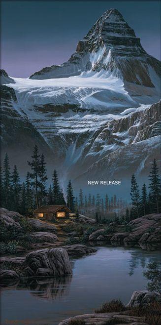 Fred Buchwitz Mount Assiniboine Grandeur