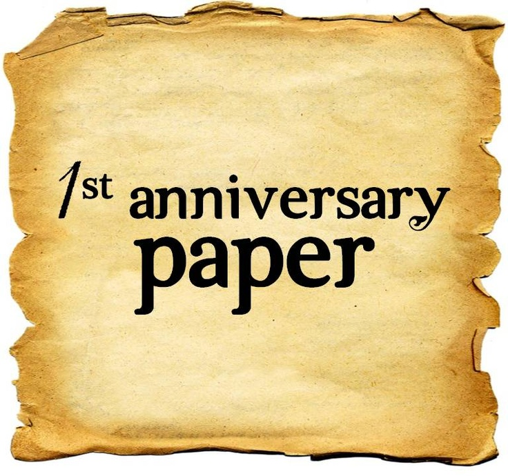 35 best paper anniversary images on pinterest paper for 1st wedding anniversary gifts her