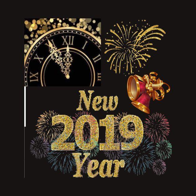 Happy New Year Card Design Newyr 2019 Happy New Year Cards New Year Card Design New Year Card