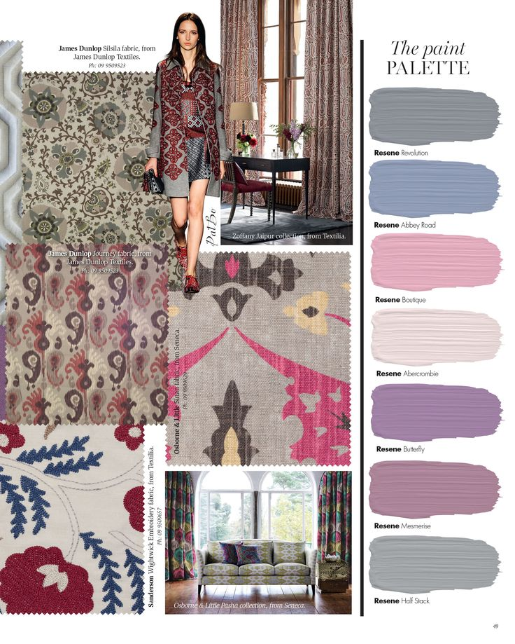 Purple haze trend. Interior inspiration Winter 2015.