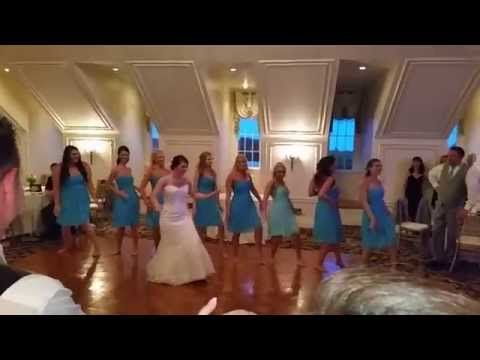 MOST EPIC Surprise Bride And Bridesmaid Dance EVER