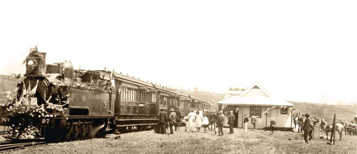 The town of Mooi River was initially named Weston in 1866 after the first Governor of Natal. The railway line from Durban arrived in 1884, cutting across the land of Alexander Lawrence; and a village was created near Weston called Lawrenceville. In 1921, that village was declared a town and was renamed Mooi River. Mooi River can be found on the Midlands Meander route in KZN, South Africa www.midlandsmeander.co.za