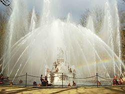 Fuente de Latona o Las ranas. Palacio de la Granja de San Ildefonso. Segovia