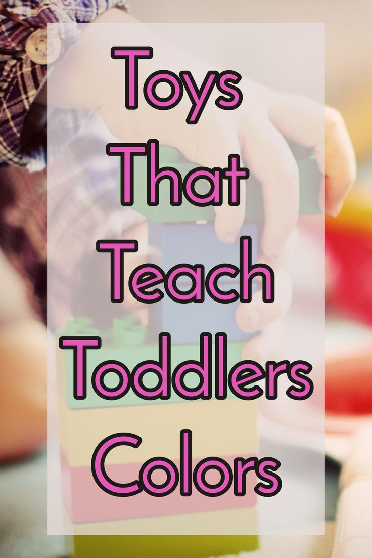 Handheld coloring games for toddlers - Toys That Teach Colors To Toddlers And Young Children
