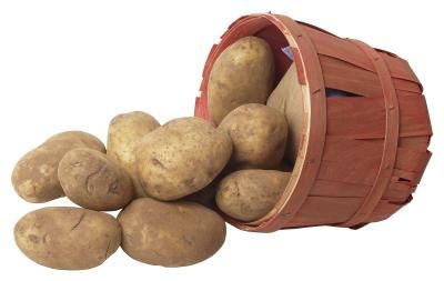 How to dehydrate cubed potatoes: Heat 1 Qt water, with 1/4 tsp citric acid added, to a boil. Scrub, peel, and rinse potatoes. Cut into 1/2 inch cubes and sit in water until there are 4 cups of cubes. Blanch/boil for 6 minutes then into cold water to stop cooking process. Drain, pat dry, and place in single layer in dehydrator and dry for 6-10 hours or until thoroughly dry and brittle. Store in air-tight container.
