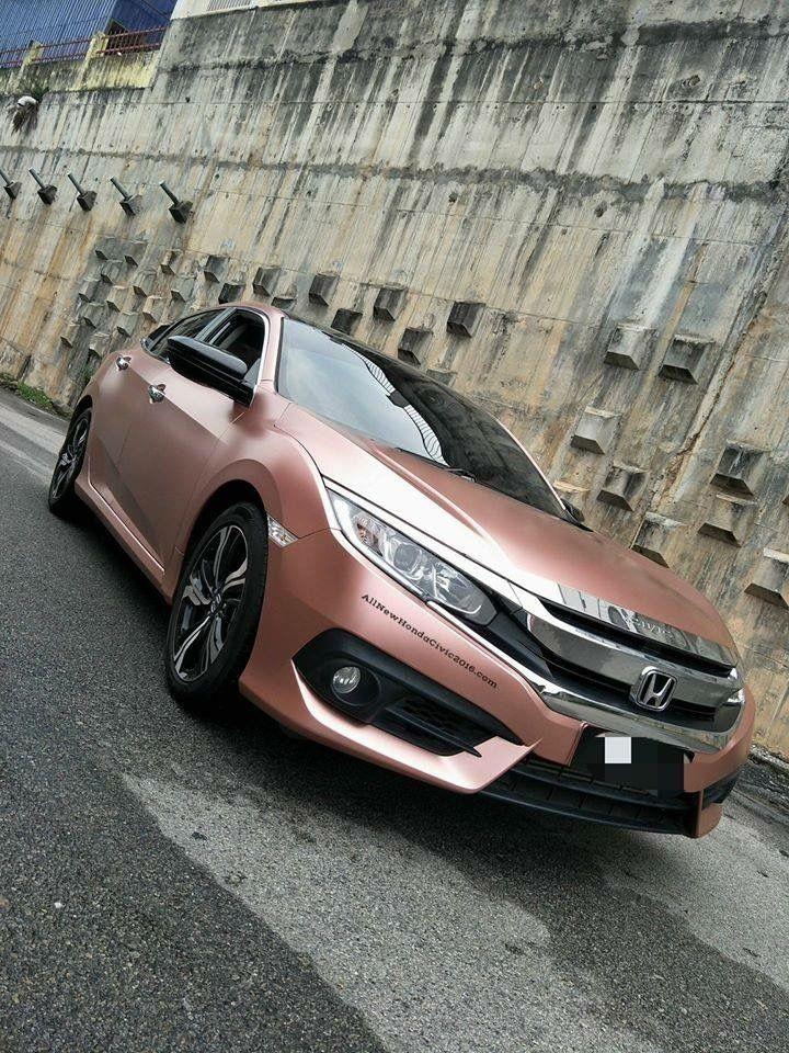 Rose Gold Honda Civic : honda, civic, Jessica, Black, Honda,, Honda, Jazz,, Civic
