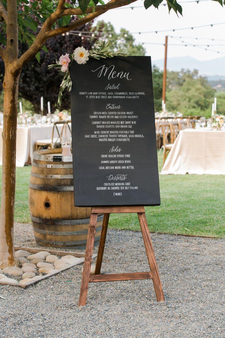 Arista vineyard wedding