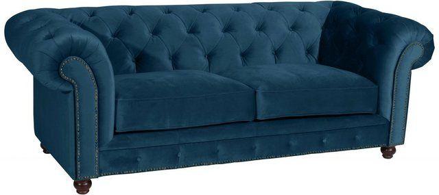2 5 Sitzer Old England Im Retrolook Breite 218 Cm Retro Sofa Sofa Small Sofa
