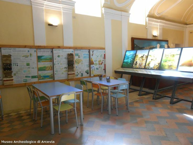 The classroom for the kids activities - Arcevia - Marche - Italy