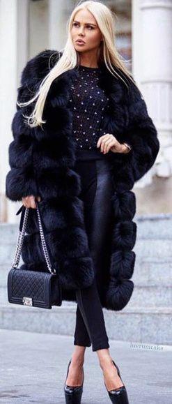 Best 20  Fur coat fashion ideas on Pinterest   Faux fur coats ...