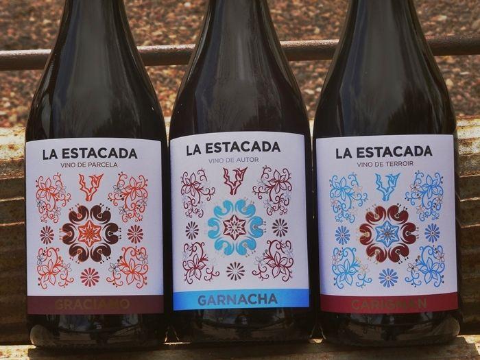 La nueva imagen de los vinos de Finca La Estacada, pretende reflejar 'la calidad de sus vinos'