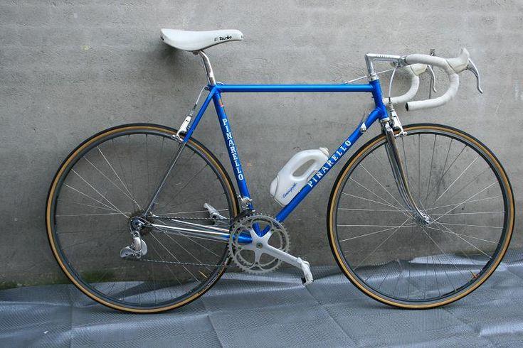 1986 Pinarello Montello van Piet Beerens op Italiaanse Racefietsen