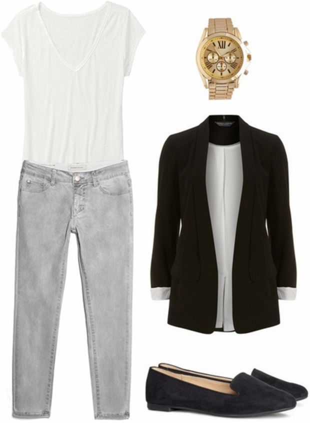black blazer casual