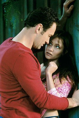 CHARMED 8X12 PHOTO #27 JULIAN MCMAHON SHANNEN DOHERTY