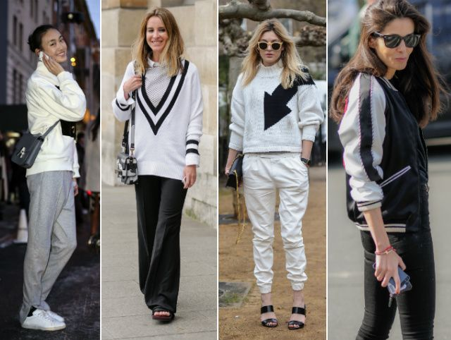 Suddenly it's cool to blend in — the 'normcore' trend sees more fashion insiders swapping heels and prints for sporty trainers, joggers and plain tees, a la Chanel's supermarket chic.