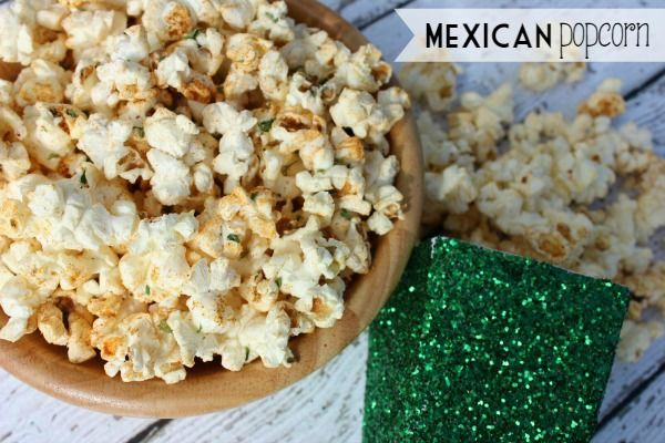 Low calorie Mexican popcorn! Spicy snack that doesn't leave you feeling guilty!