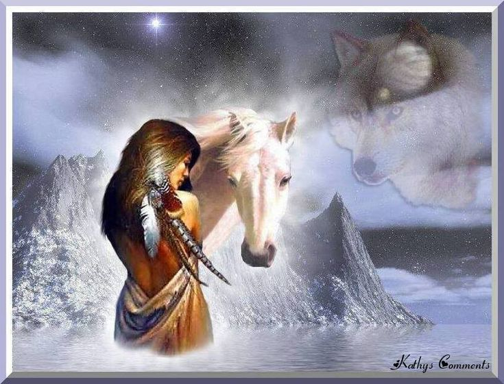 American Native Indian Woman With Wolf Photo: This Photo was uploaded by deafpbiggersf. Description from pinterest.com. I searched for this on bing.com/images