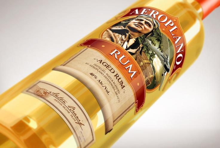 Desarrollo de Marca Tequila Aeroplano Nobabel sí comunicación