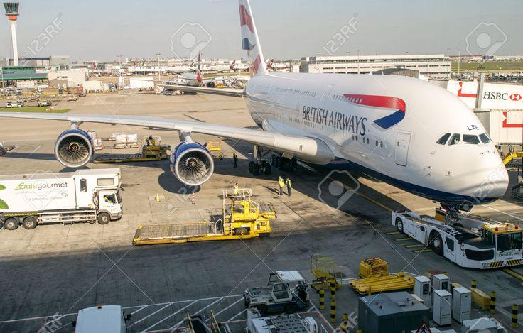 28359866-LONDON-APRIL-11-2014-British-Airways-Airbus-A380-in-Heathrow-airport-British-Airways-if-the-flag-car-Stock-Photo.jpg (1300×829)