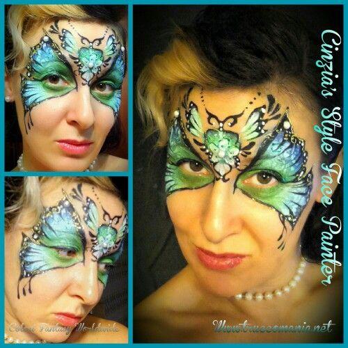 #farfalla #butterfly #face painting