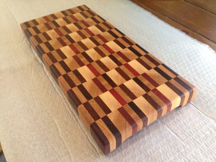 Oak, Kwila, Jarrah, Mahogany, Walnut chopping board