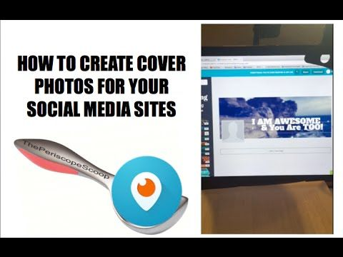 HOW TO CREATE COVER PHOTOS FOR FACEBOOK, GOOGLE +, AND OTHER SOCIAL MEDI...