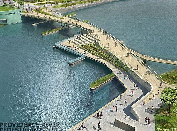 Bond for a leisure time with inFORM's multi-use pedestrian bridge | Designbuzz : Design ideas and concepts