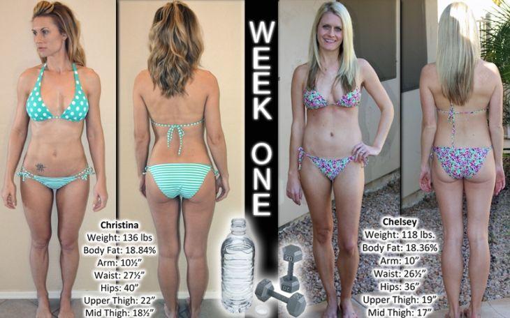 "Week One ""Before"" Photos: NPC Bikini Competition Training #fitness #fitnessblogger #blogger #bikini"