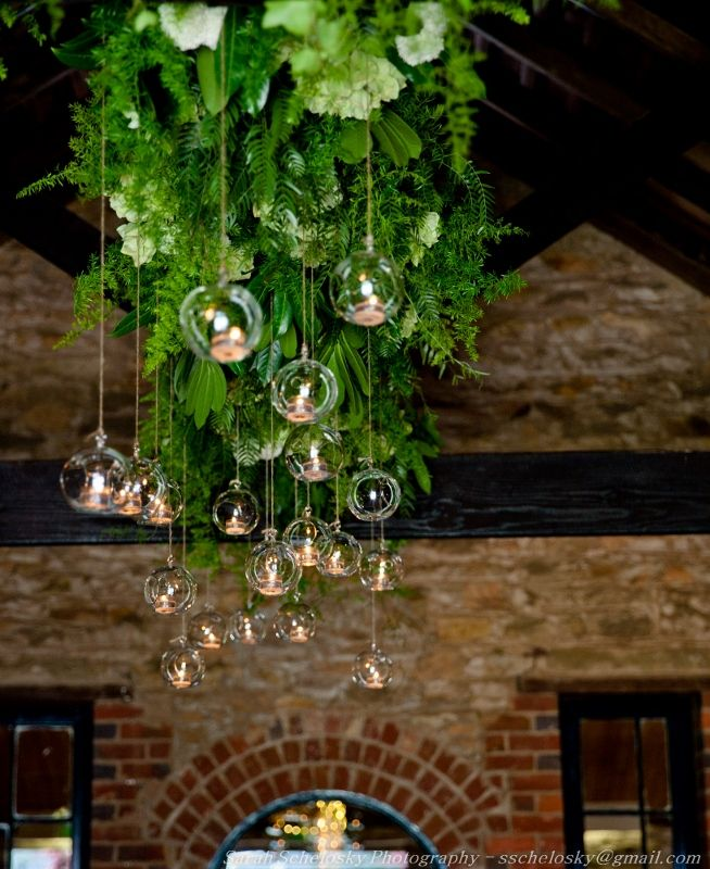 Overhead installation by www.theeternalvase.com.au @ Chateau Dore