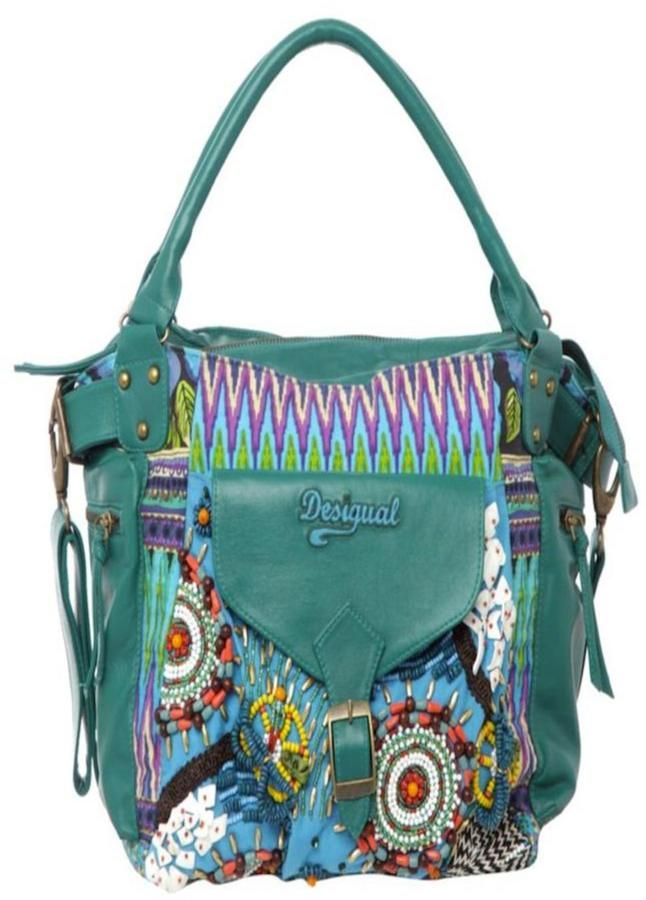 DESIGUAL Genuine Leather Handbag