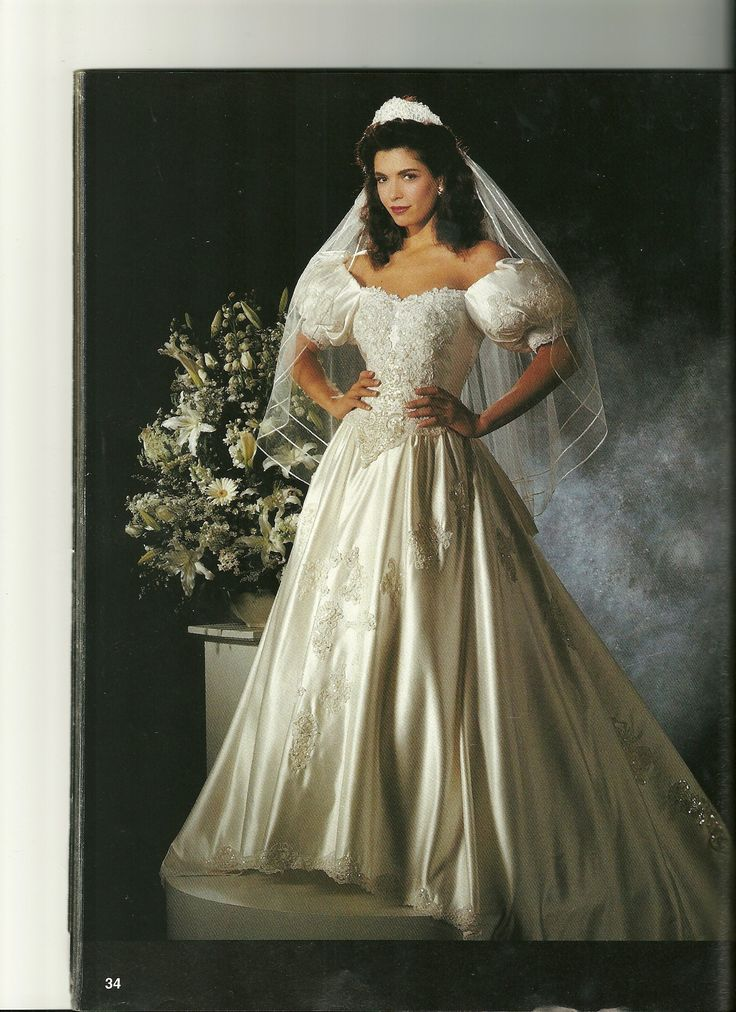 75+ best Bridal Gowns of the 1990\'s images by The Bride\'s Shoppe on ...