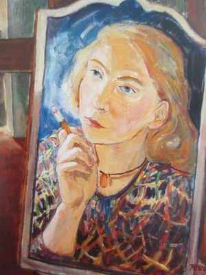 Tove Jansson, 'Self Portrait', 1939