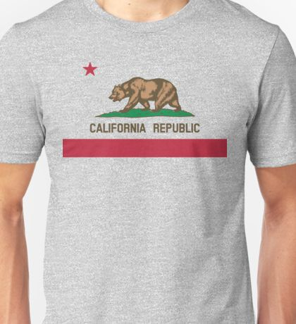 California Flag Unisex T-Shirt