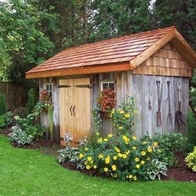 Shedbisa: Pinterest Garden Sheds Diy