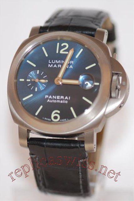 Panerai Luminor Marina Automatic 40mm PAM 00282 Mens Watch Replica
