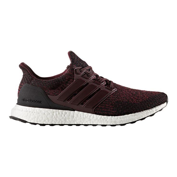 adidas Men\u0027s Ultra Boost Running Shoes - Burgundy/Black