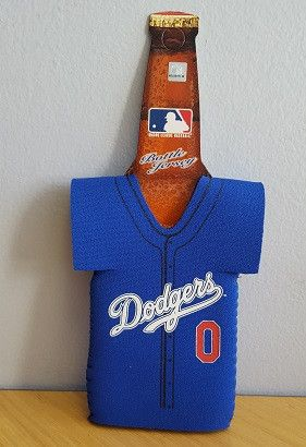 L.A. Dodgers Jersey Bottle Koozie