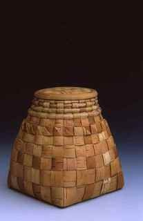 Birch basket by Vladimir Yarish