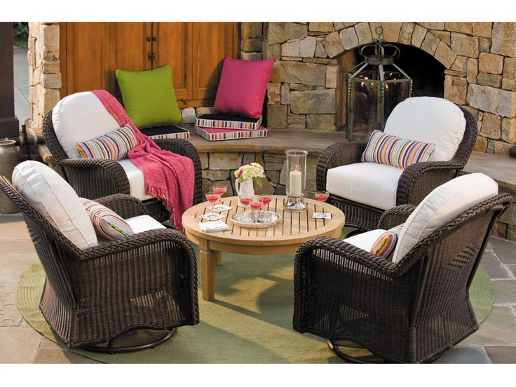 Bring Your #outdoorsetting To Life With Sunbrella #outdoor #patio # Patiofurniture #baconsfurniture