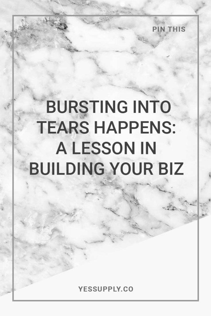 Bursting Into Tears Happens A Lesson In Building Your Biz, Do you wanna know why bursting into tears happens when you are building your bz? Learn a lesson in building your biz, In this blog you will learn a lesson in building your business