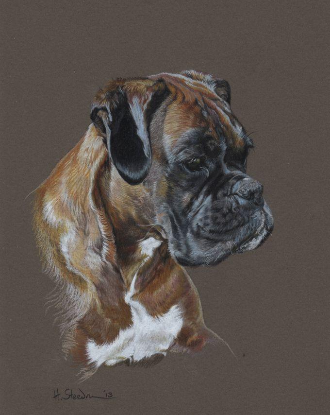 Betty by ~Utlah on deviantART ~ Boxer dog Training (click here) http://dunway.us/kindle/html/boxer.html